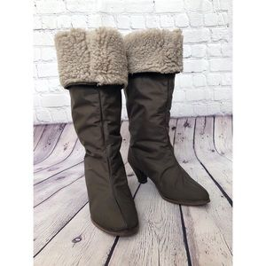 Saks Fifth Avenue Brown Golo Winter Boots